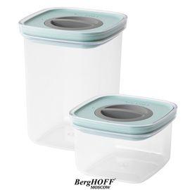 2пр набор контейнеров для пищевых продуктов с герметизирующей крышкой